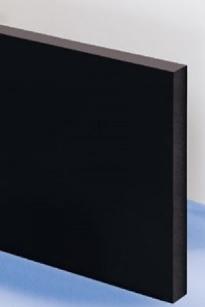 plaque poly thyl ne noir 2000x1000x40 mm. Black Bedroom Furniture Sets. Home Design Ideas