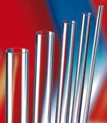 tube transparent rigide en plexiglas