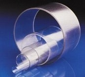 Tube PVC transparent 5000 x Ø75 x 3.6 mm